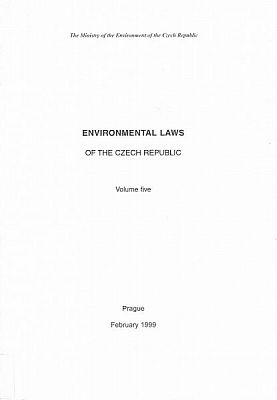 Enviromental laws of the Czech Republic