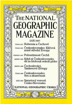 National Geographic 9/2007 Magazine