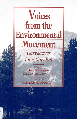 Voices from the Enviromental Movement